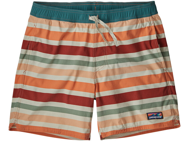 Patagonia M's Stretch Wavefarer Volley Shorts Water Ribbons/New Adobe
